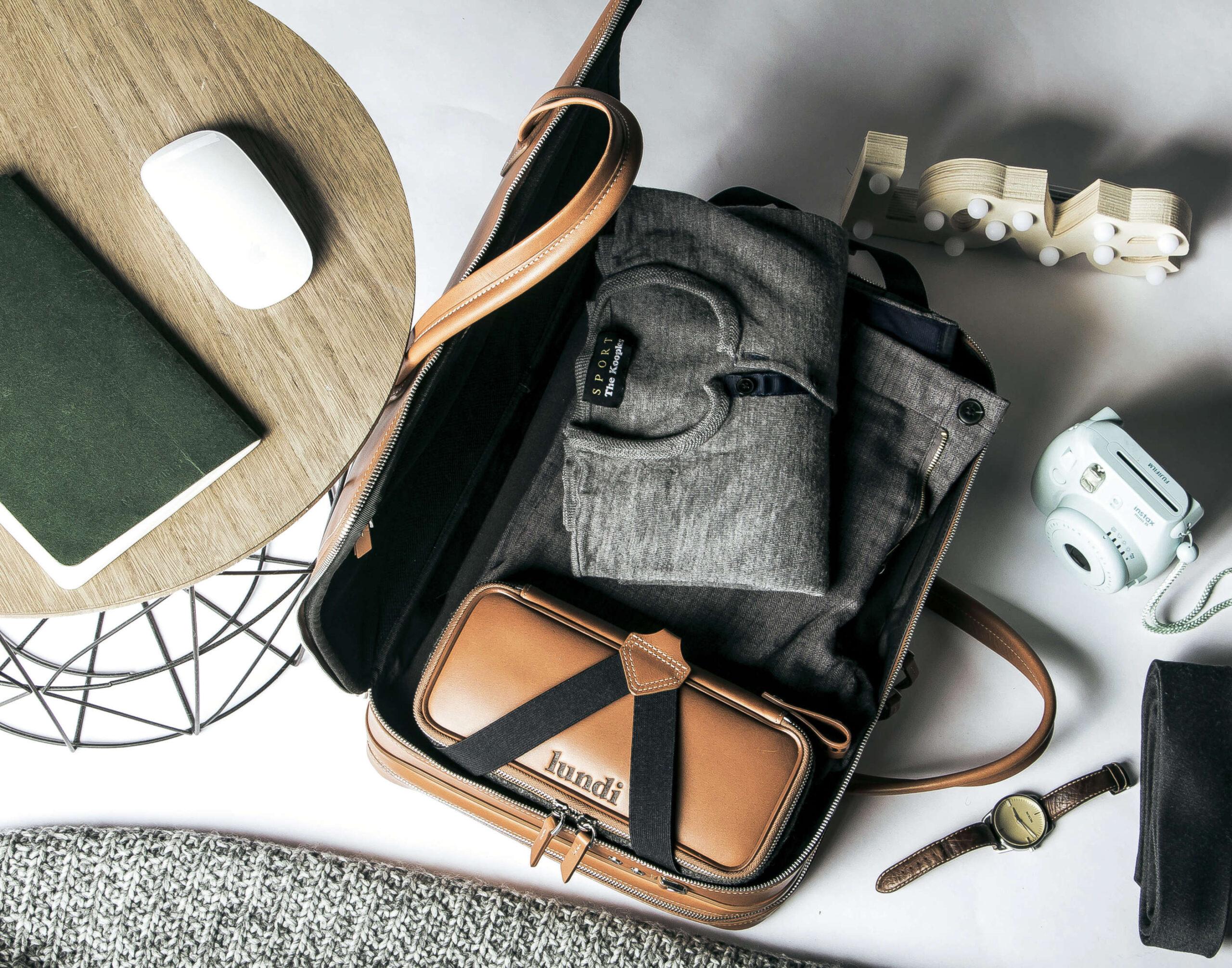 36 Hour Bag von lundi in Braun