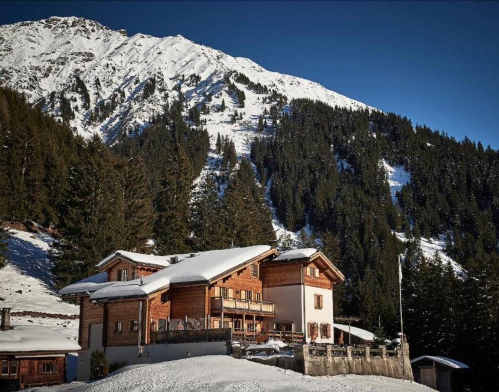 Alpenrösli Klosters Berghütte