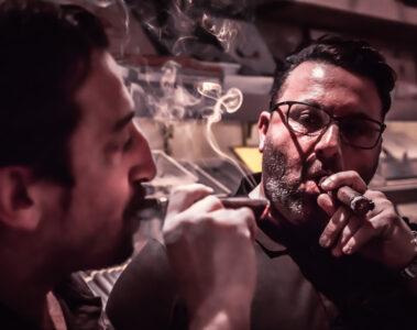 Der Zigarrenkurier Lino und Francesco