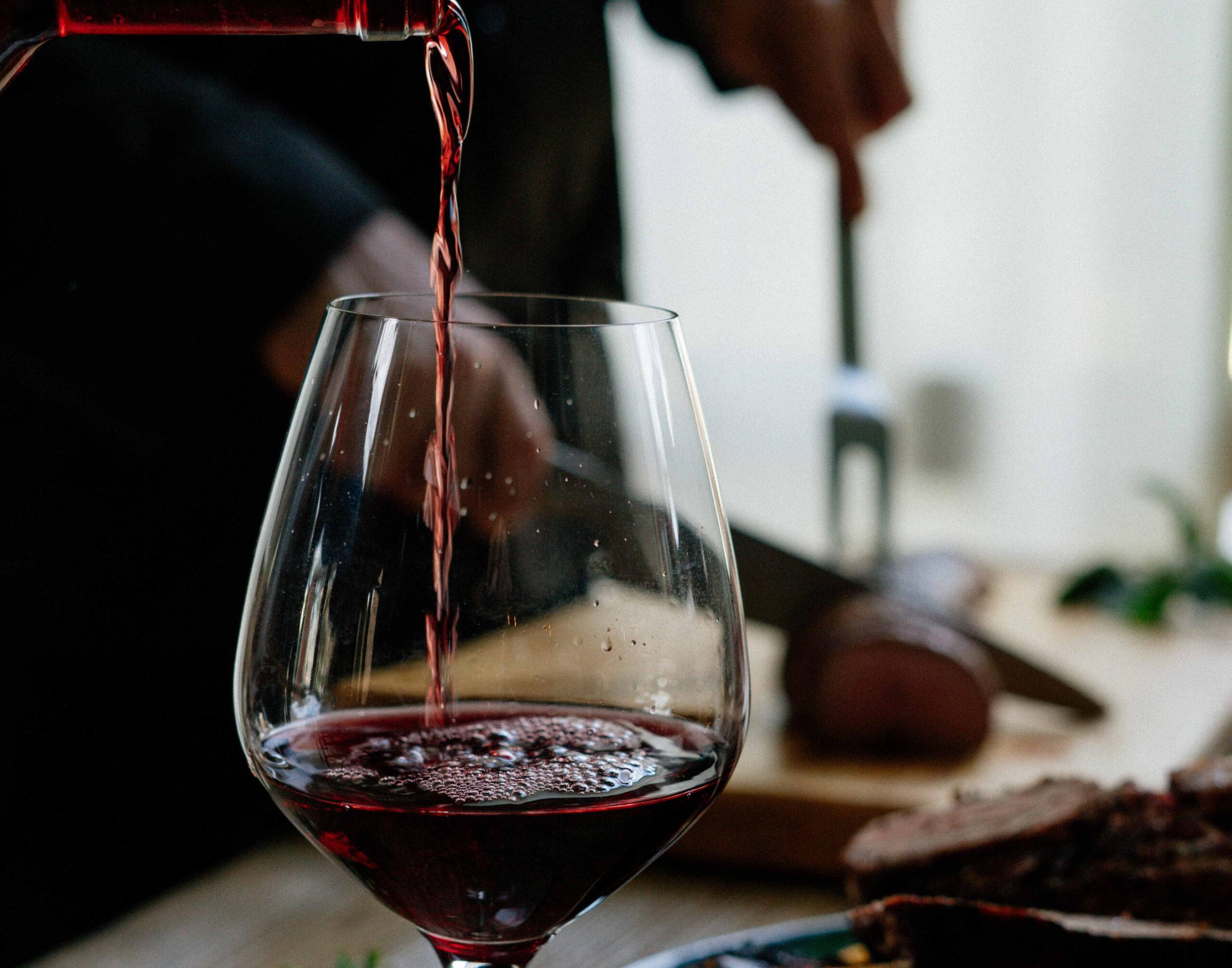 Wein daheim