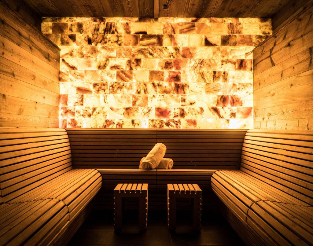 The Capra Spa Salt Sauna